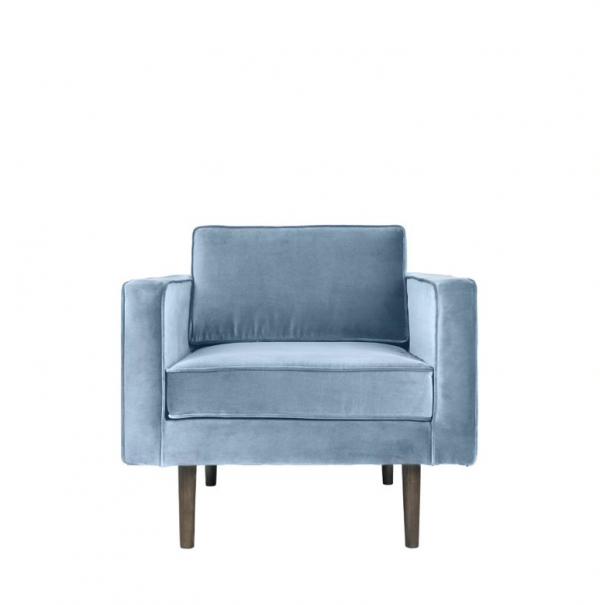 Armchair - powder blue