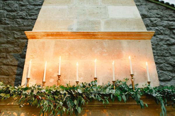 Candlestick holder - brass