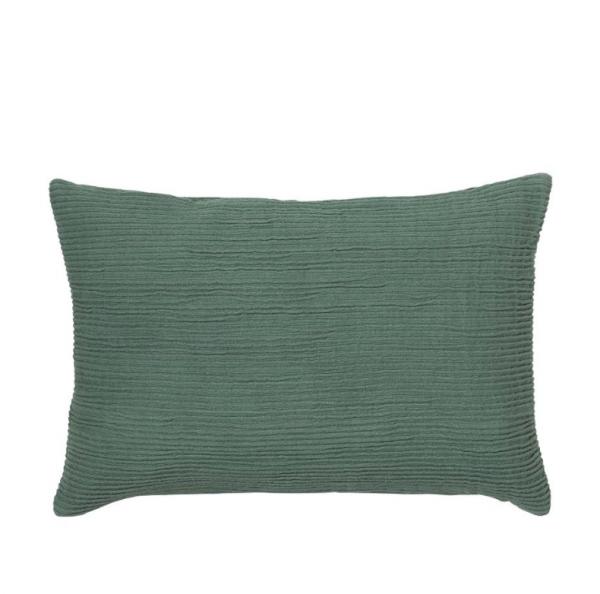 Cushion - rectangle, green