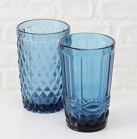Glassware - blue water