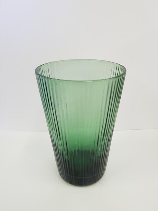 Glassware - green water