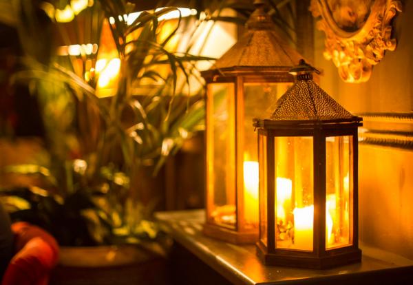 Lantern - antique