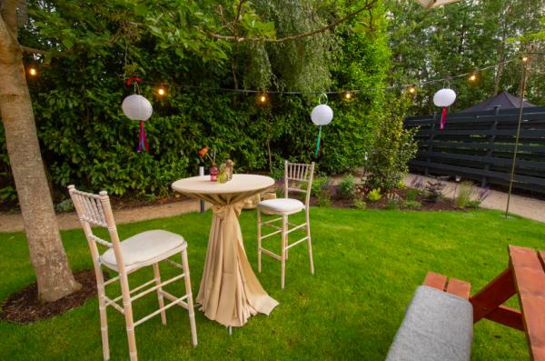 Paper lantern - white, outdoor