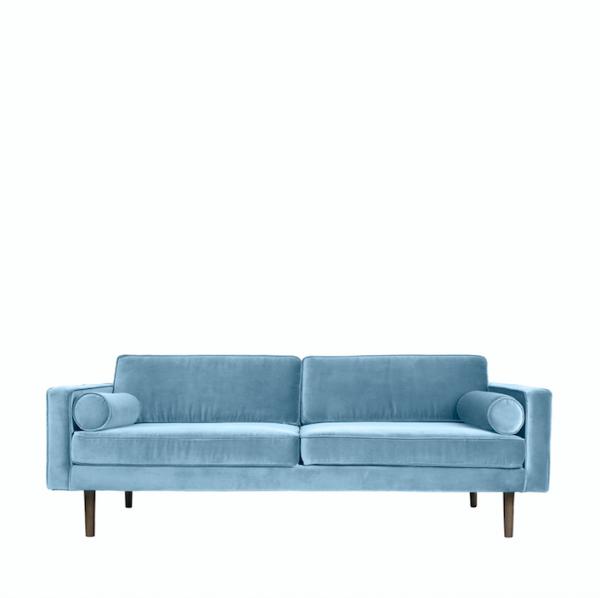 Sofa - powder blue