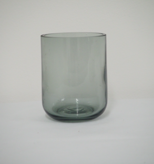 Tealight holder - tall grey