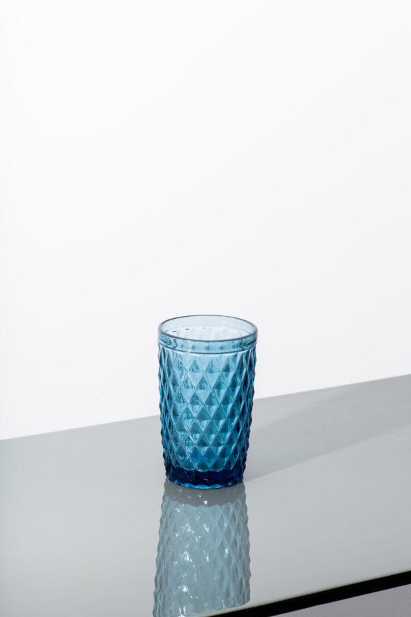 Set of 6 - blue diamond water glass - signature rentals