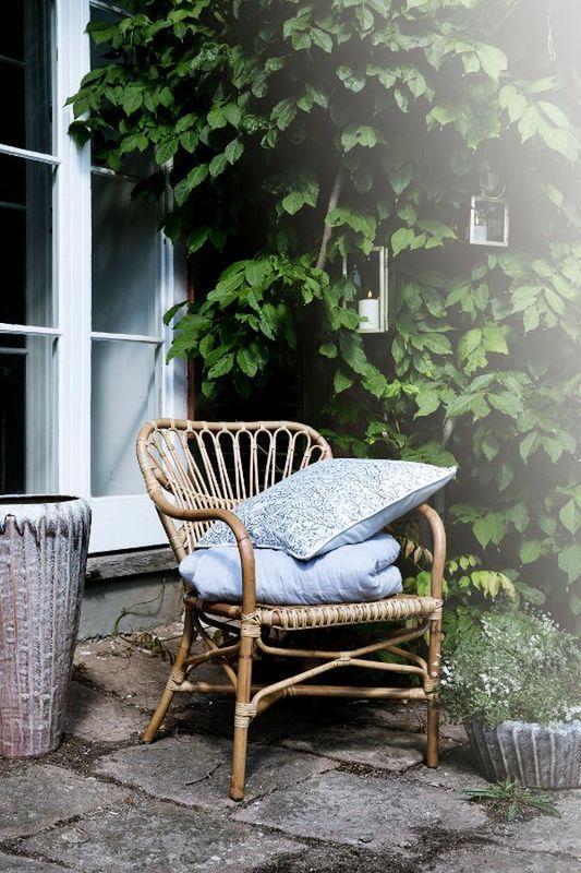 Signature Rentals - garden party - rattan armchair