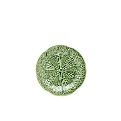 Bordallo-dessert plate-green-signature rentals