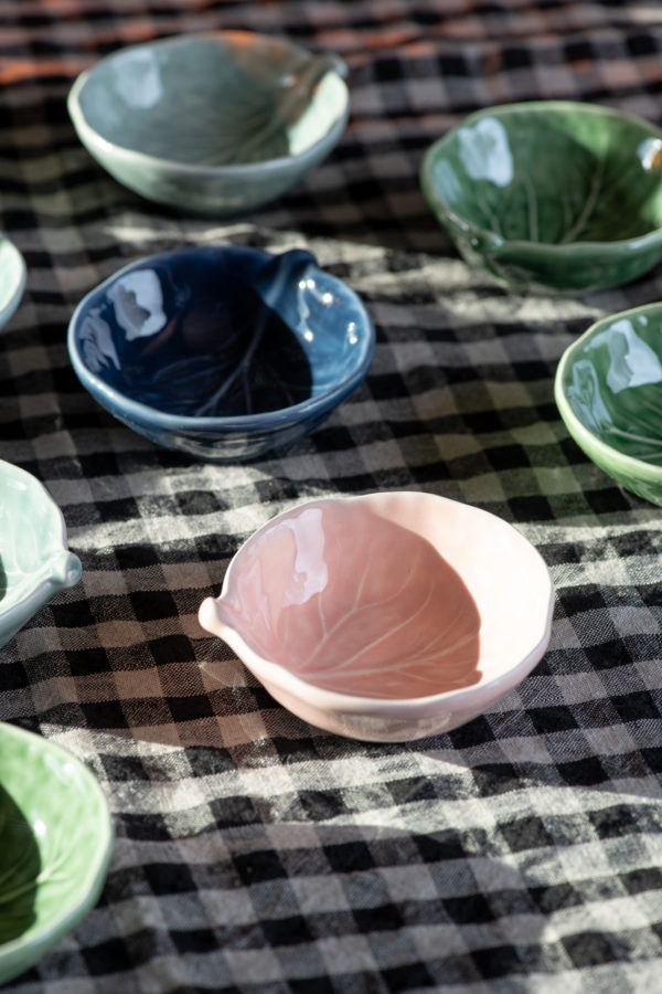 Bordallo style salt bowl-signature rentals