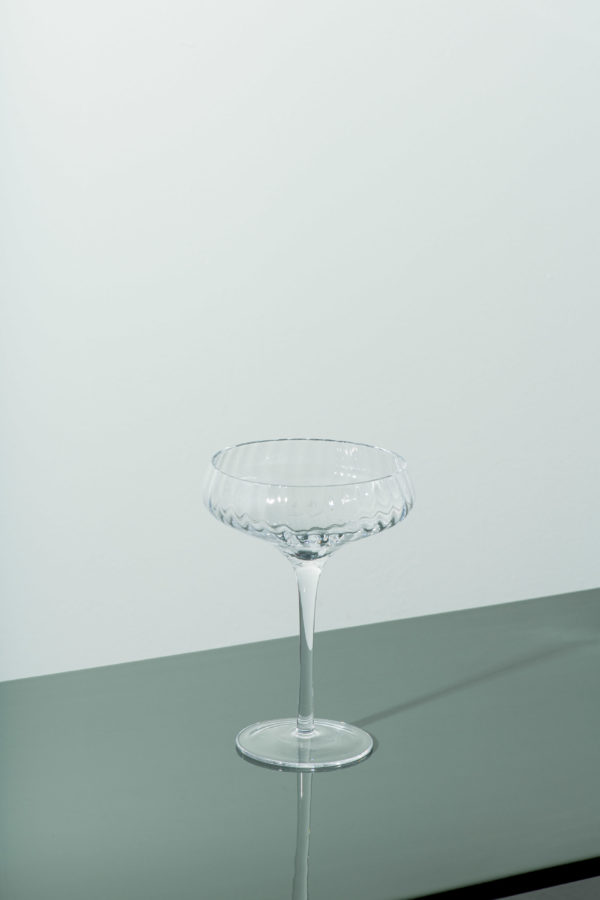"""Set of 4 - """"The Glamour' Champagne Coupe - signature rentals"""