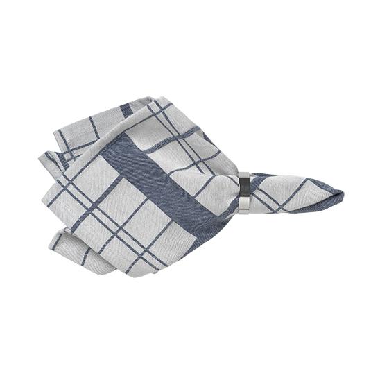 Thread check cotton napkin - signature rentals