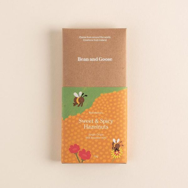 Bean and Goose - Sweet and Spicy hazelnuts - signature rentals