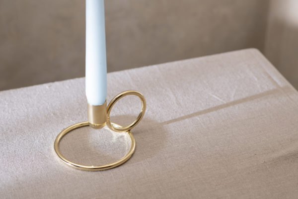 Kandy gold candle holder - signature rentals