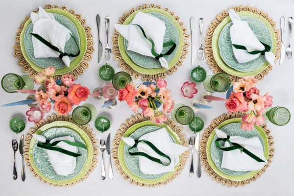 Easter Lunch tablescape - Signature Rentals
