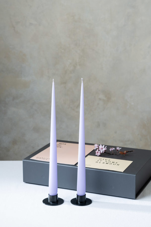 Box of Joy - Candle setting - black - Signature Rentals