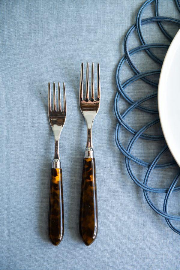 Tortoiseshell - 5 Piece Cutlery Set