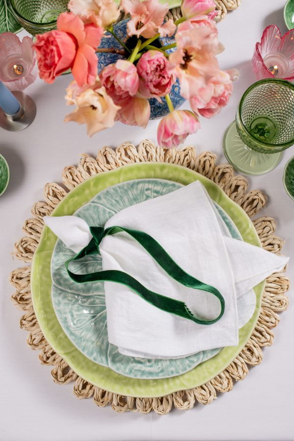 Hoppin into Spring - Easter Tablescape - Signature Rentals