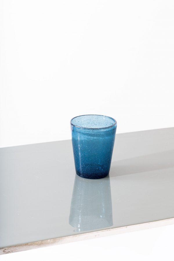 Set of 6 - Bubble tumbler, blue