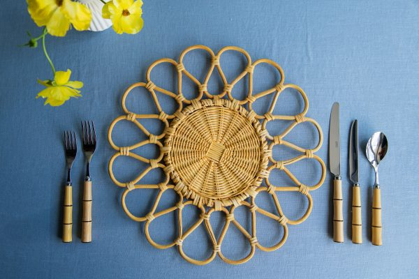 Riviera rattan placemat - natural