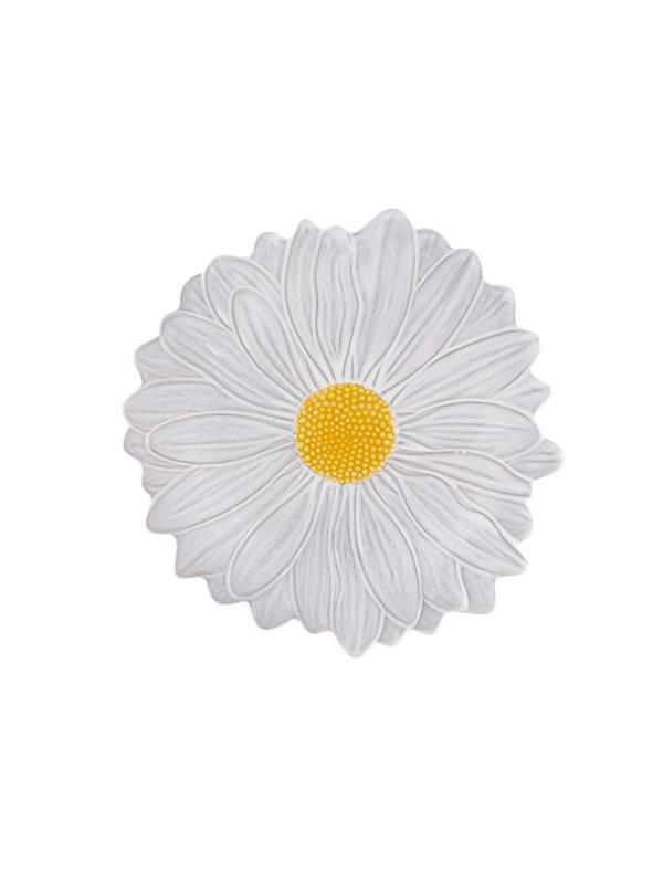 Gardenia - daisy - dessert plate