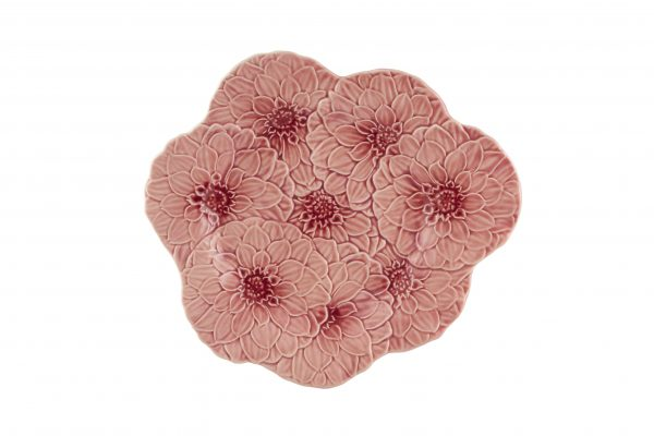 Gardenia - dahlia rose - plate
