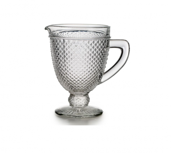 Diamond pitcher - clear