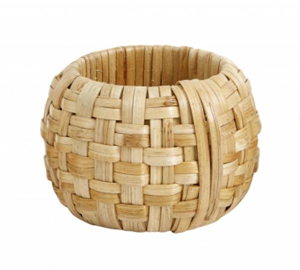 Weaved natural napkin ring