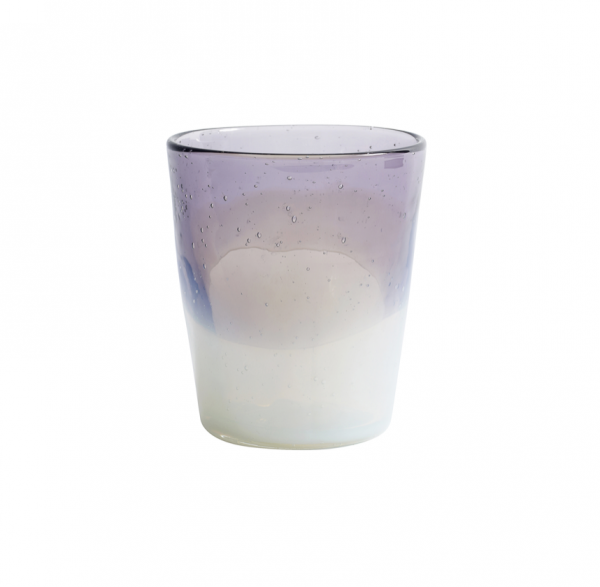 Set of 6 - opal purple tumbler