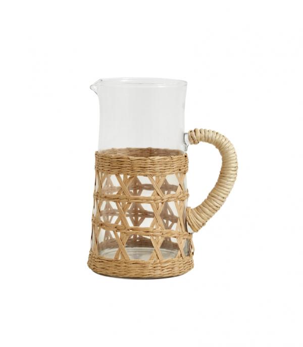 Rattan pitcher